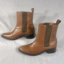 Cole Haan Ellison Womens Brown Waterproof Ankle Boots Size 8.5B (D38983)