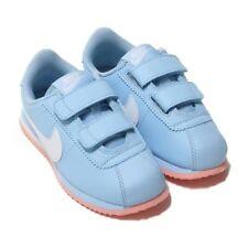 Nike Cortez Basic SL (PSV) Toddler Shoes Size 2Y # AO2191 400 $60 Baby Blue Wht