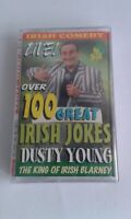 Comedy Cassette.  Dusty Young. Over  100  Irish Jokes.  King Of Irish Blarney