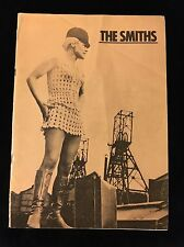 THE SMITHS MEAT IS MURDER CONCERT PROGRAM MORRISSEY SIGNED TWICE-Johnny MARR 1X