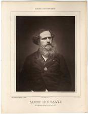 Galerie Contemporaine, Arsène Houssaye (1814 - 1896), homme de lettres français