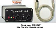 SIGNALINK USB Tigertronics SLUSB13I Signalink USB For Icom 13-PIN DIN