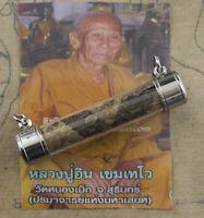Amuleto LP Khem Wat Nong Potenza Serpente Amuleto Takrud Tailandese 1553