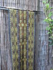 Balinese (Bamboo & Wood Hanger x 78cm) & Woven ikat x 1.8m