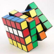 US 4x4x4 Puzzle Clearance! Twist Sticker Stock Black Cube Speed Toy Lanlan Magic