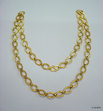 22k gold chain necklace from rajasthan india