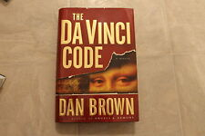 The da vinci code by Dan Brown 2003 Hc 1st Ed/1st Printing