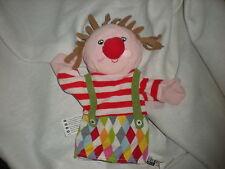 "Ikea Plush Clown Circus Puppet Klappar Cirkus 17596 Soft Lovey 11"""