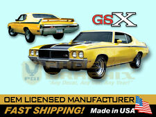 1970 1971 1972 Buick GSX Decals & Stencil Stripes Kit