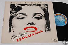 MARILYN MONROE:LP-GOODBYE PRIMADONNA-ORIG.ITALY NM