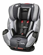 Evenflo Symphony DLX BABY CAR SEAT, All In One Convertible CAR SEAT, Concord