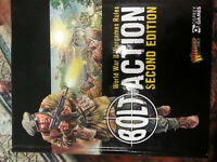 BOLT ACTION SECOND EDITION RULEBOOK - NEW