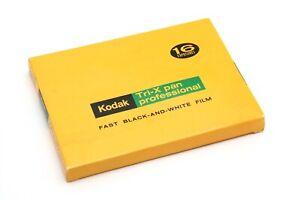 Kodak Tri-X Pan Pro B&W 4x5 Type 523 16 Exp Film Pack (Exp March 1978) #34584