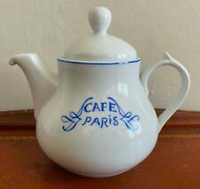 BERNARDAUD CAFE PARIS BLUE Teapot