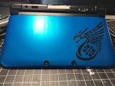 √ 1x BLACK MONSTER HUNTER 4 ULTIMATE DRAGON LOGO DECAL FOR 3DS XL GAME CONSOLE √