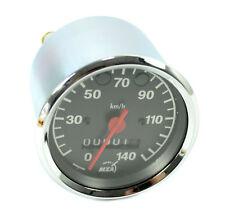 Tachometer Tacho Chrom 80mm 140 km h pas. f MZ ETZ 125 150 250 251 301 blau grün