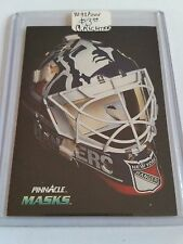 1992-93 Pinnacle #270 Mike Richter MASK : New York Rangers