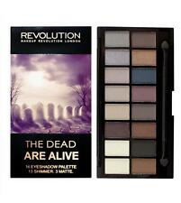 MAKEUP REVOLUTION~DEAD ARE ALIVE Zombie~16 COLOUR EYESHADOW PALETTE Neutral Nude