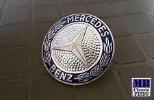 GENUINE NOS Mercedes Benz W116 badge emblem radiator grille