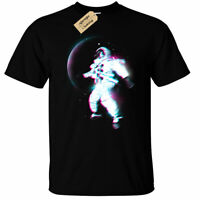 Kids Boys Girls Space Blur T-Shirt Mens astronaut moon trippy outerspace