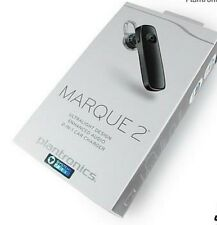 New in Box- Plantronics Marque 2 M165 Universal Wireless Bluetooth Headset Black