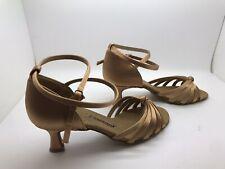 Chaussure de danse de salon pour femme Diamant couleur: bronze