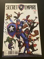 Marvel SECRET EMPIRE #0 Comic RON FRENZ 1:20 Retailer Variant Cover 2017 NM