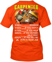 Carpenter-hourly-safety - Carpenter Hanes Tagless Tee T-Shirt