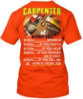 Carpenter-hourly-safety - Carpenter Hanes Tagless Tee T-Shirt