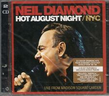 Hot August Night/NYC 2x cd Neil Diamond 2010 OOP NEW Sealed 32 trk EXCLUSIVE trx