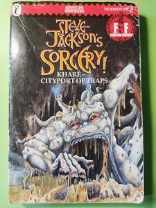 Steve Jackson Sorcery Book #02 Khare - Cityport Of Traps