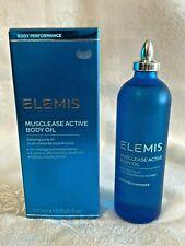 Elemis Musclease Active Body Oil (Nib/Full Size/3.3oz/100ml) - Brand New