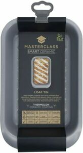 MasterClass Smart Ceramic Loaf Tin with Robust Non Stick Coating, Carbon Steel,
