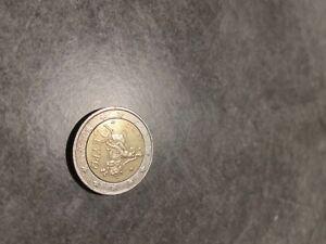 2 Euro Grèce 2002, Pièce de 2 euro avec un S dans l'étoile du bas