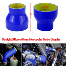 3 Ply 51mm/76mm Durable Silicone Hose Intercooler Turbo Coupler Tube Intake Pipe