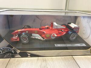 HotWheels Ferrari F2004 Michael Schumacher 2004 1/18 Scale Model