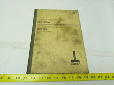 Okuma Mc-50Va Osp7000/700m Electrical drawing book manual