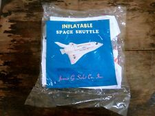 Vintage 1980's  NOS In Package Inflatable NASA Columbia Space Shuttle USA