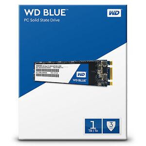 WD Blue M.2 Internal SSD 250GB | 500GB | 1TB Solid State Drive 6Gb/s 2280 80mm