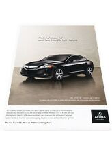 2013 Acura ILX Original Advertisement Print Car Ad J446
