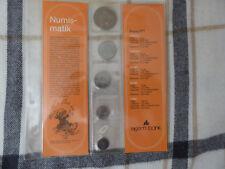 Dänemark, Münzen Jahrgang 1977 ungebraucht im Folder