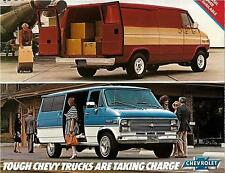 1983 Chevy Vans/Sportvans literature-14 pages-6.2L G10 G20 Beauville