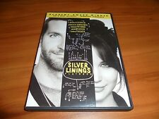 Silver Linings Playbook (DVD, Widescreen 2013) Bradley Cooper Used