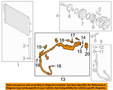 HYUNDAI OEM 14-15 Elantra Air Conditioner-Liquid & Suction Hose Assy. 97775A7600