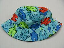 Jumping Beans Brown Monkey Bucket Hat Baby Boy 0-6 Months Sun Hat NEW