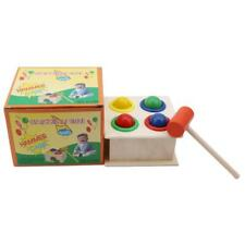 Gifts Piling Station Playing Hamster Wood Knocks Baby Toy Montessori Wooden Toys