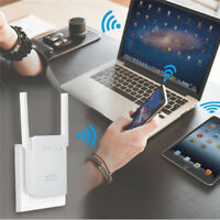 Wifi Repeater Wireless Router Network Range Extender Signal Booster w/ 4 Antenna