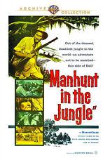 Manhunt in the Jungle 1958 (DVD) Robin Hughes, Luiz Alvarez, James Wilson - New!