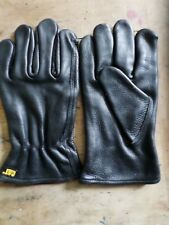 Cat leather GLOVES  Thick / unlined  Biker built~