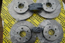 Jaguar X-Type Saloon & Estate 05- Front And Rear Brake Discs And Pads